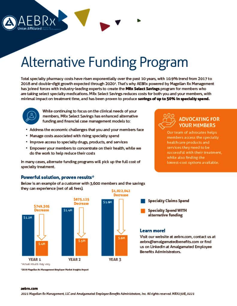 Alternative Funding Program